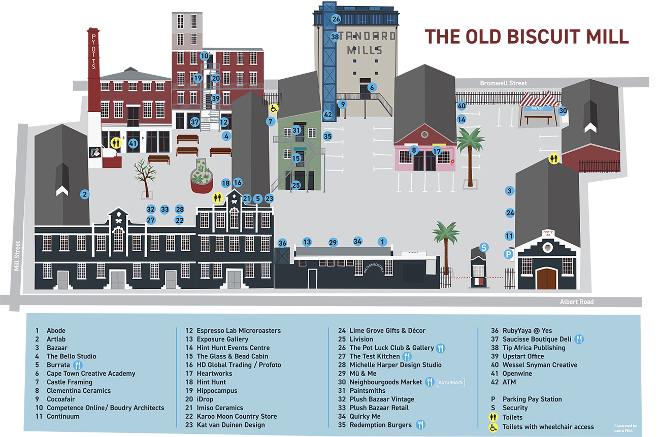 Tobm Map Of The Mill